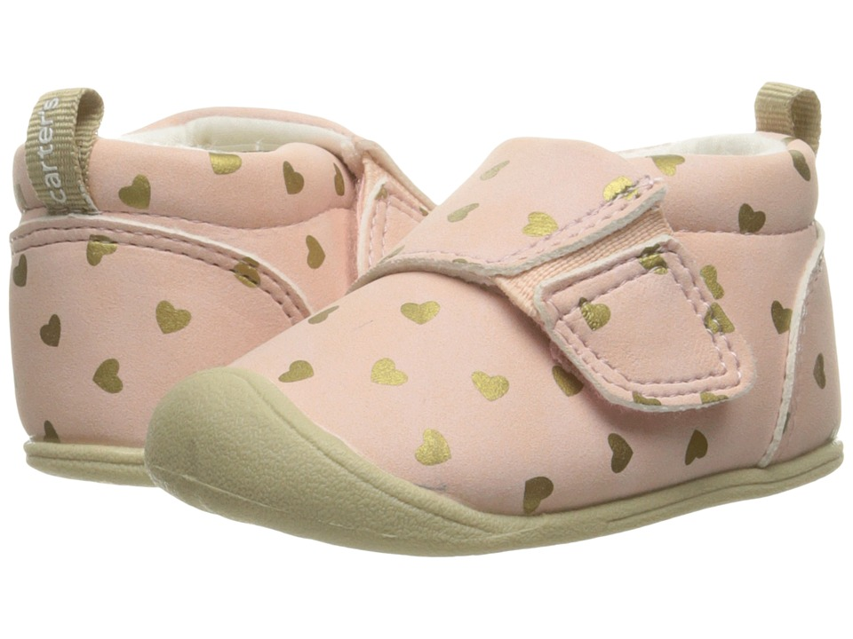 Carters - Alex CG (Infant) (Pink) Girl's Shoes