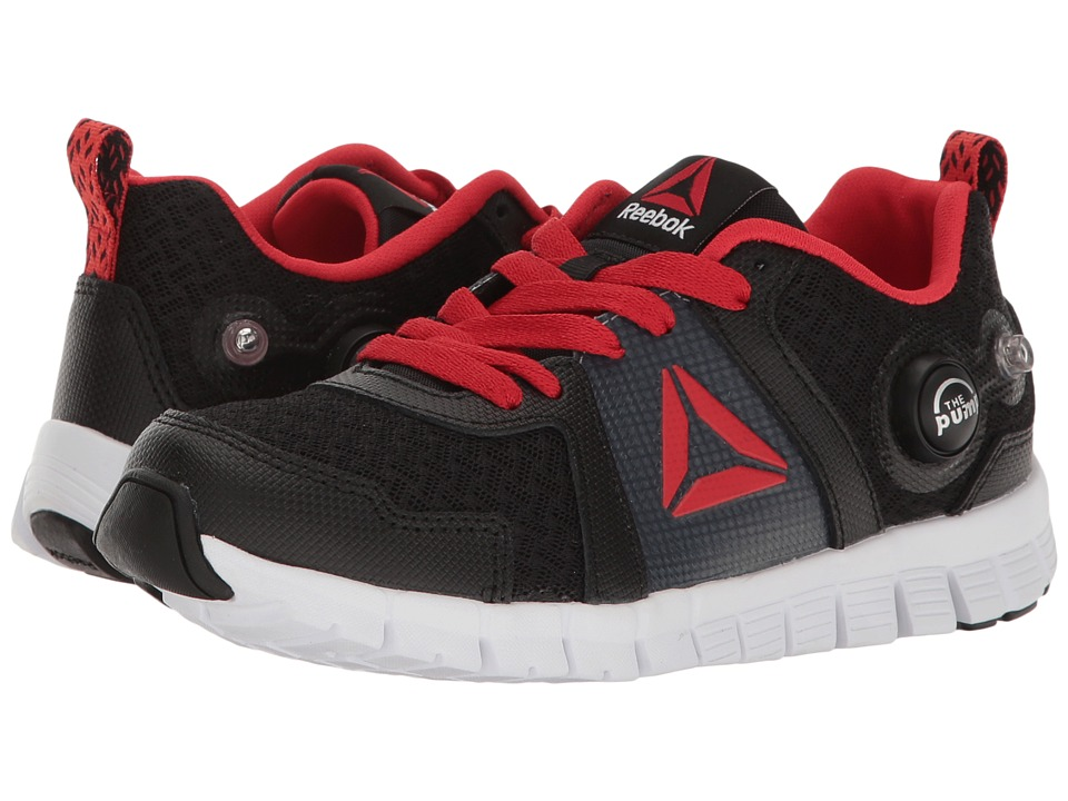 Reebok Kids - ZPump Instinct 2.0 (Little Kid) (Black/Primal Red/Asteroid Dust/White) Boys Shoes