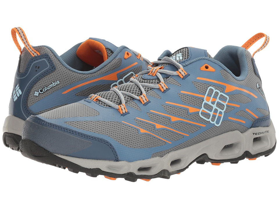 Columbia - Ventrailia II (Grey Steel/Oxygen) Men's Walking Shoes