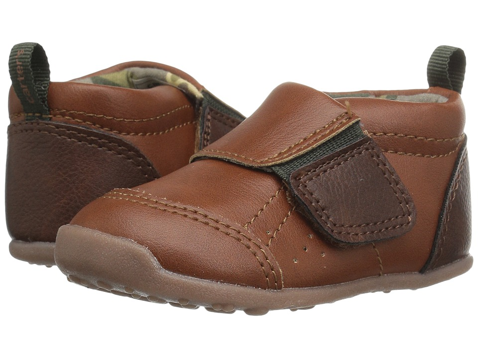 Carters - Alex WB (Toddler) (Brown/Green) Boy's Shoes