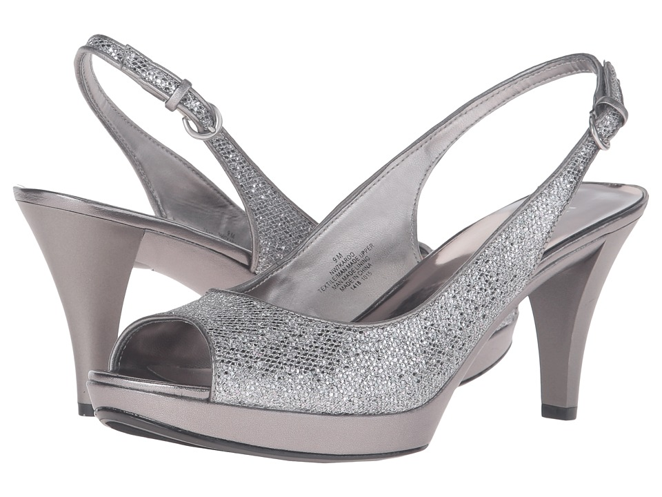 Nine West - Karoo (Silver/Pewter) Women's Shoes