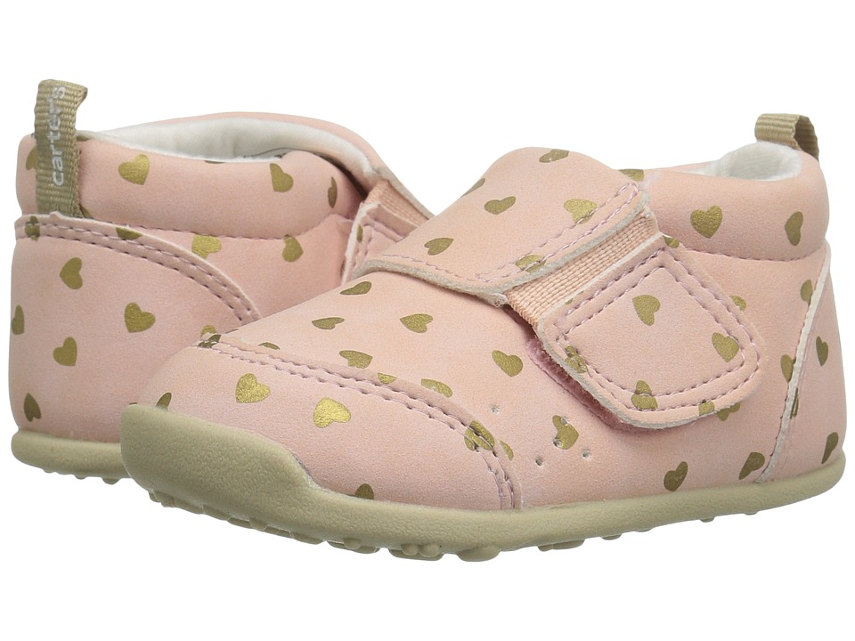 Carters - Alex WG (Toddler) (Pink) Girl's Shoes
