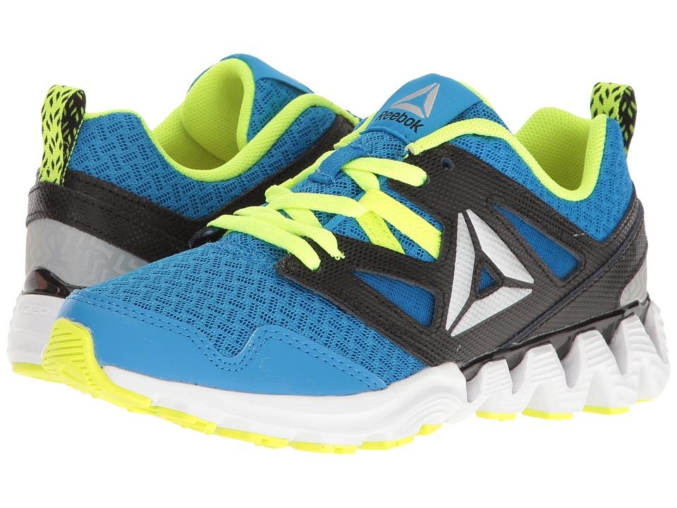 Reebok Kids - Zigkick 2K17 (Little Kid) (Horizon Blue/Solar Yellow/Black/White/Silver Metallic) Boys Shoes