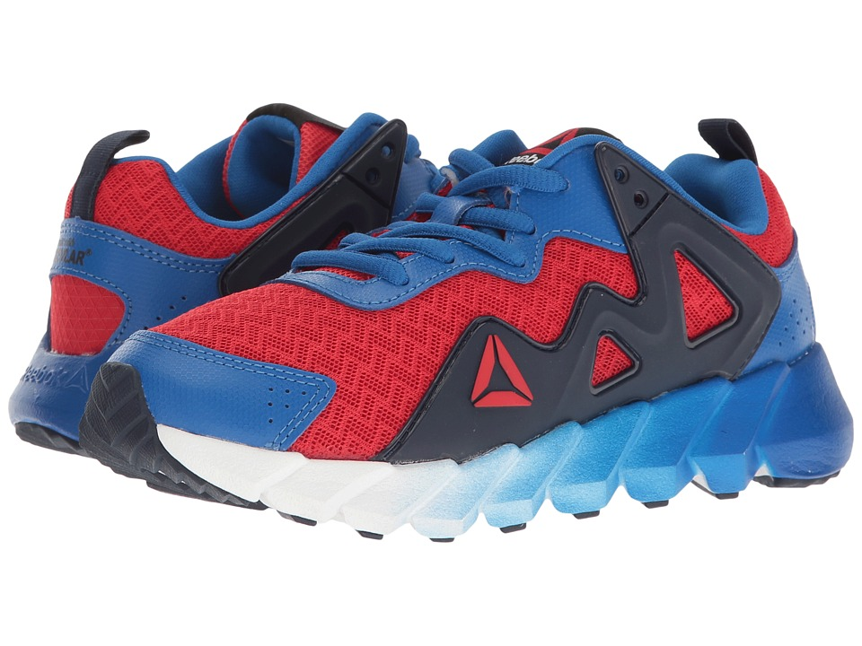 Reebok Kids - Exocage Athletic II (Little Kid) (Primal Red/Awesome Blue/Collegiate Navy) Boys Shoes