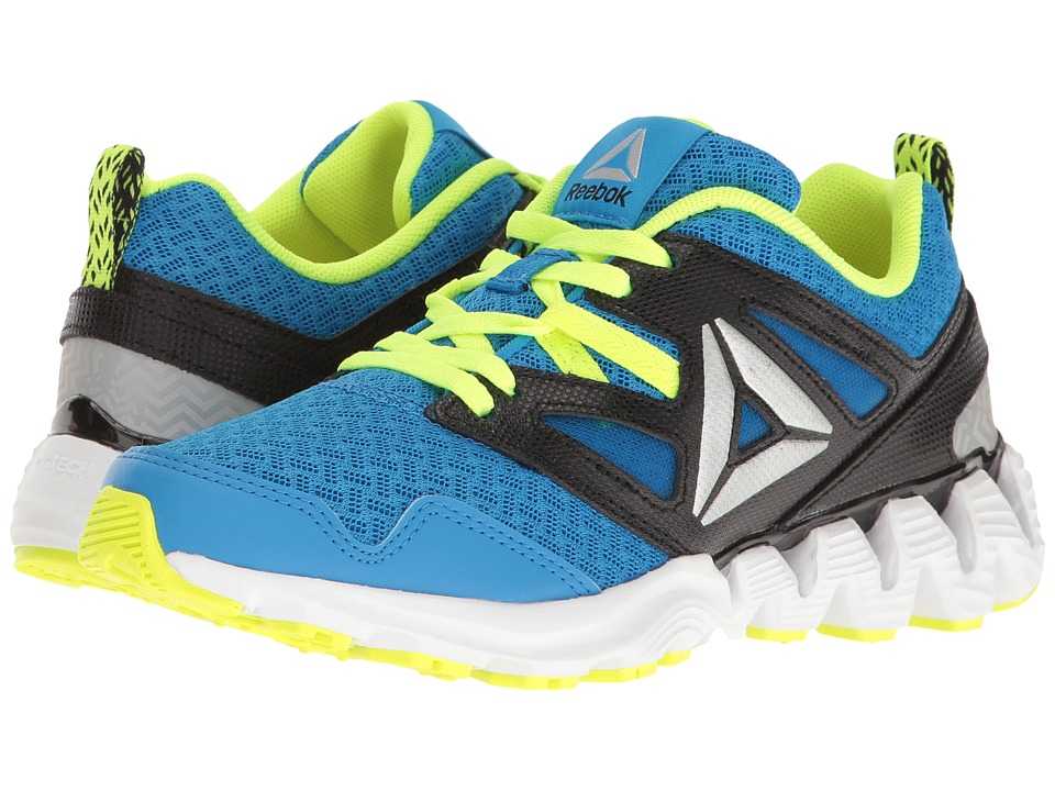 Reebok Kids - Zigkick 2K17 (Big Kid) (Horizon Blue/Solar Yellow/Black/White/Silver Metallic) Boys Shoes