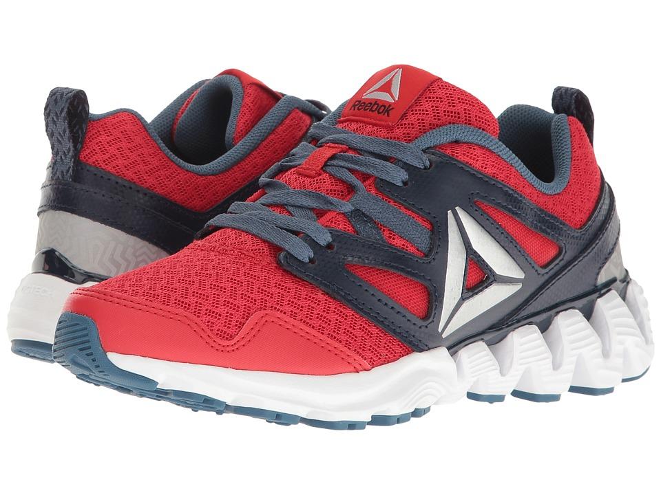 Reebok Kids - Zigkick 2K17 (Big Kid) (Primal Red/Collegiate Navy/Brave Blue/White) Boys Shoes