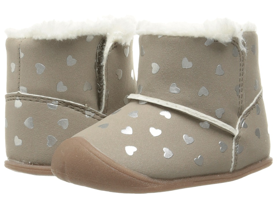 Carters - Bucket 2 CG (Infant) (Brown) Girl's Shoes