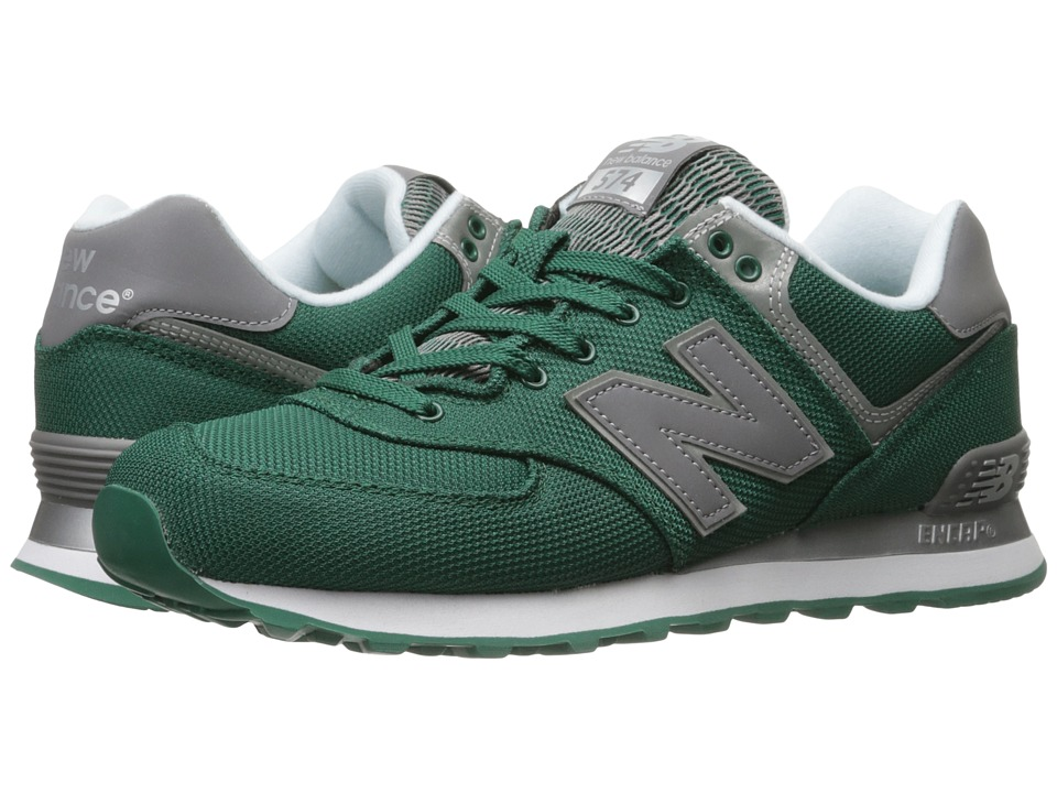 New Balance - ML574 (Green/Grey) Men's Shoes