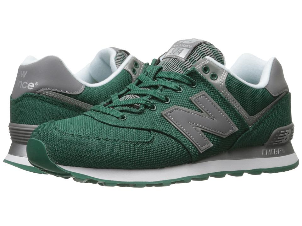New Balance ML574 (Green/Grey) Men