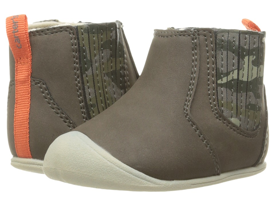 Carters - Connor CB (Infant) (Gray) Boy's Shoes