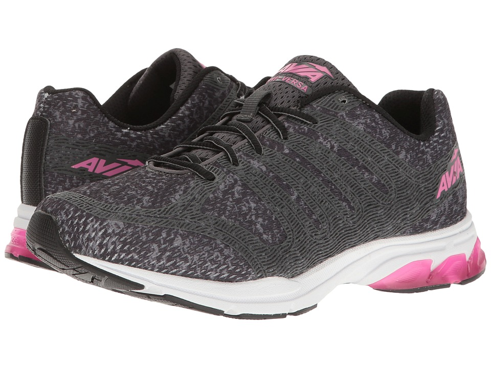 Avia - Avi-Versa (Iron Grey/Black/Pink Energy) Women's Shoes