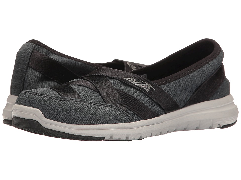 Avia Avi-Aura (Black/Iron Grey/Cool Mist Grey) Women