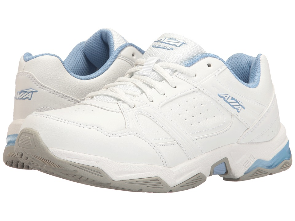 Avia - Avi-Rival (White/Powder Blue) Women's Shoes