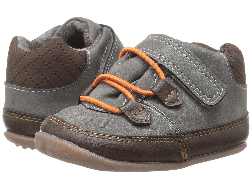 Carters - Hunter SB (Infant/Toddler) (Gray/Brown) Boy's Shoes