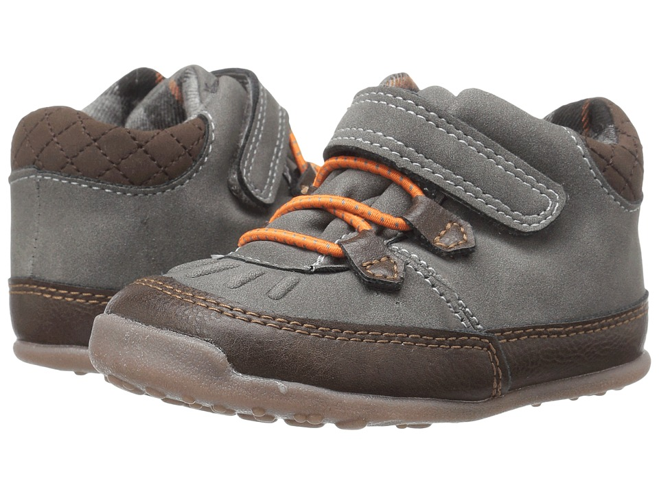 Carters - Hunter WB (Toddler) (Gray/Brown) Boy's Shoes