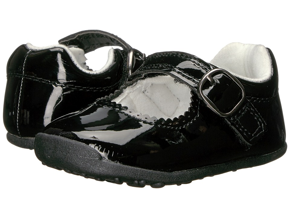 Carters - Sarah WG (Toddler) (Black) Girl's Shoes