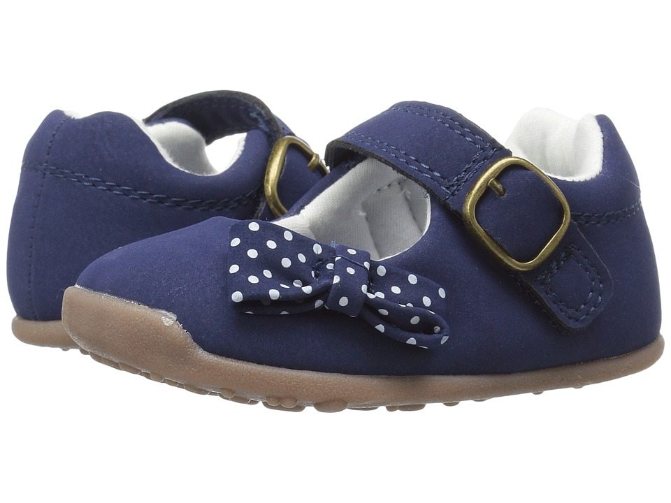 Carters - Sarah WG (Toddler) (Navy) Girl's Shoes