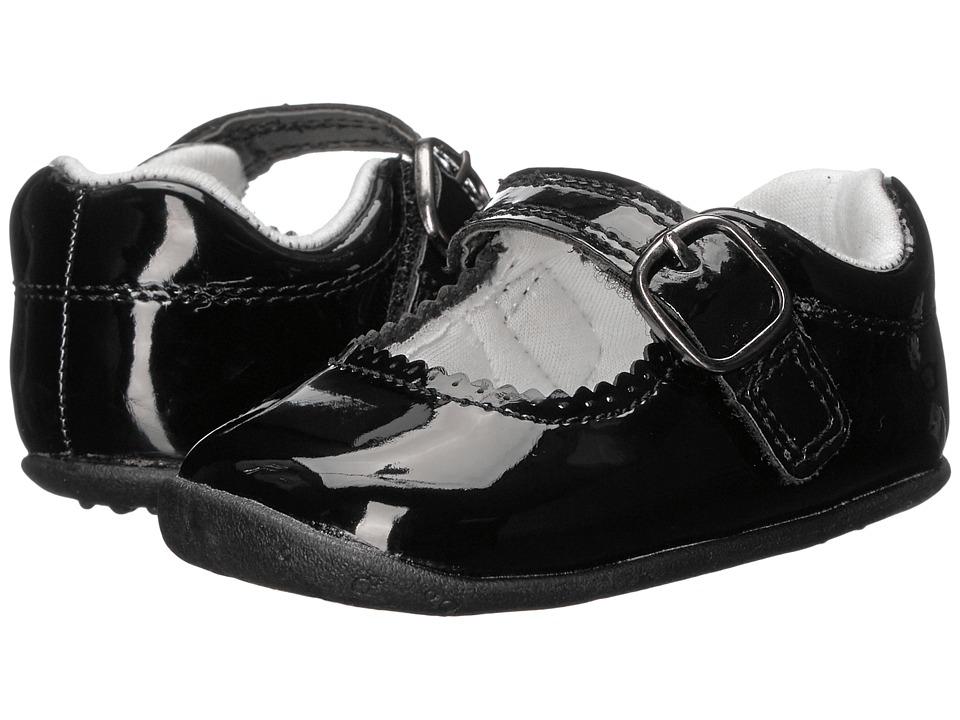 Carters - Sarah SG (Infant/Toddler) (Black) Girl's Shoes