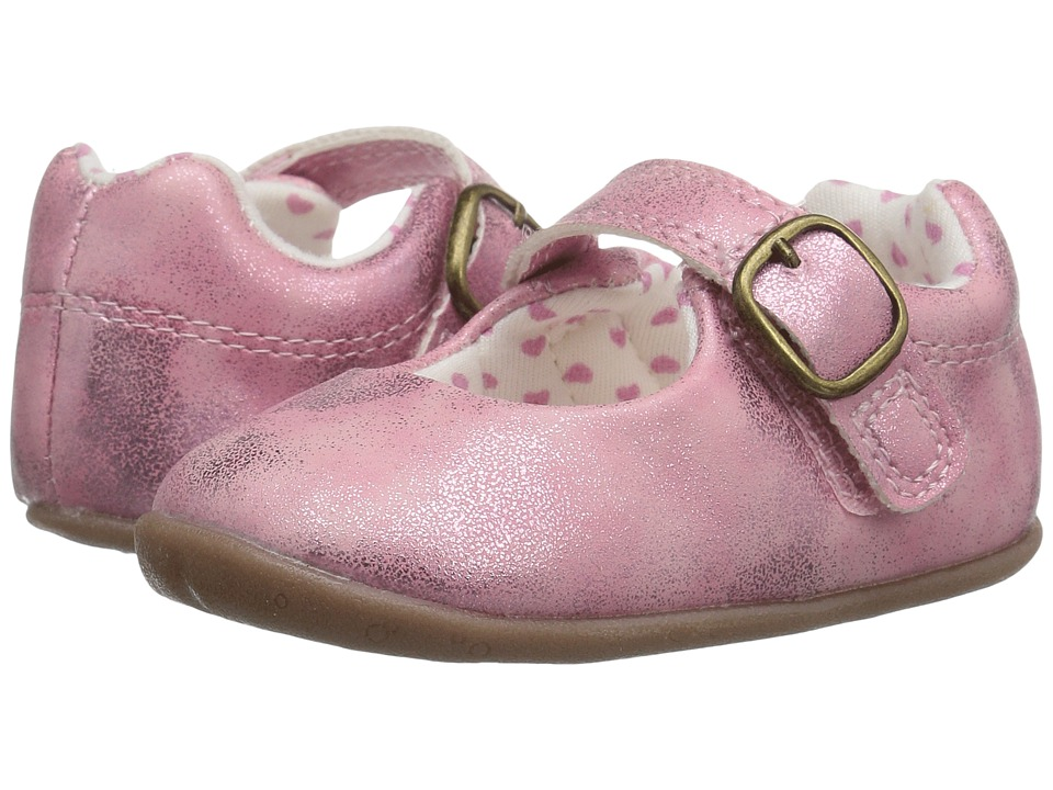 Carters - Sarah SG (Infant/Toddler) (Pink) Girl's Shoes