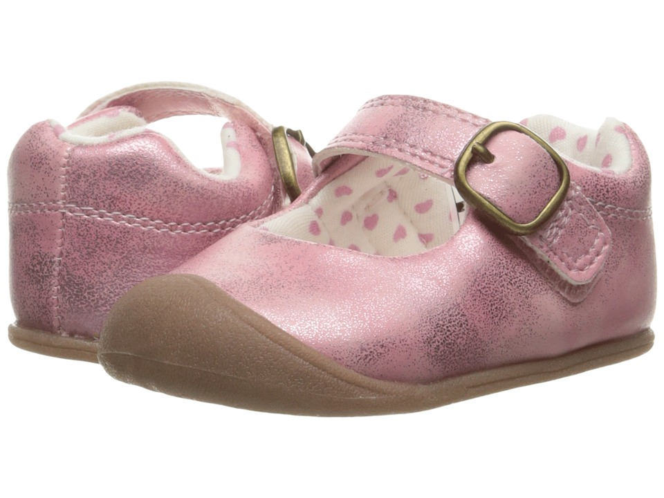 Carters - Sarah CG (Infant) (Pink) Girl's Shoes