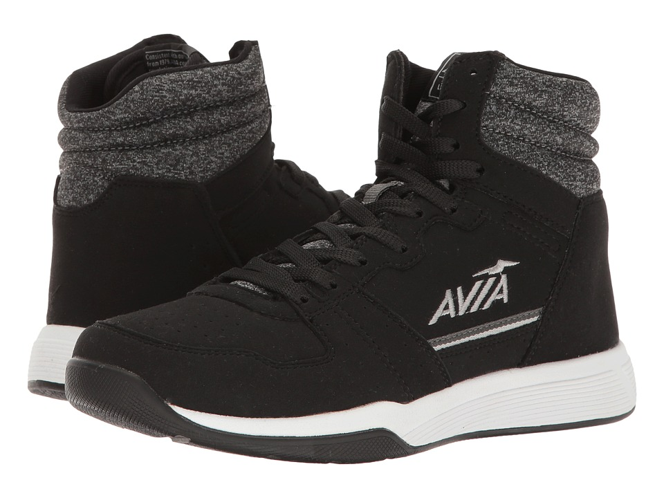 Avia Alc-Diva (Black/Iron Grey/Nickel Silver) Women