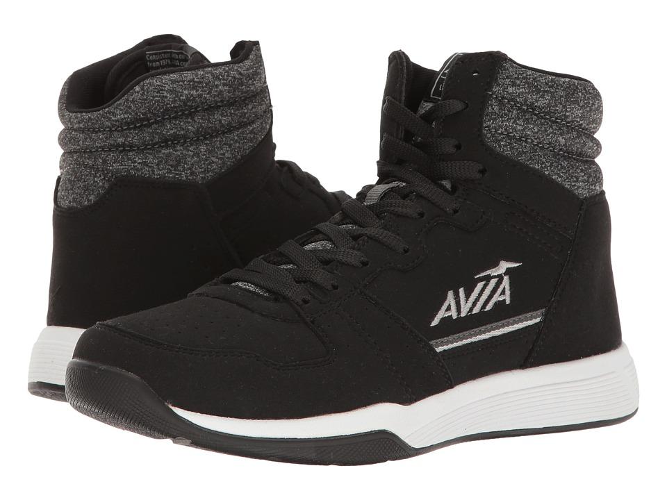 Image of Avia - Alc-Diva (Black/Iron Grey/Nickel Silver) Women's Shoes
