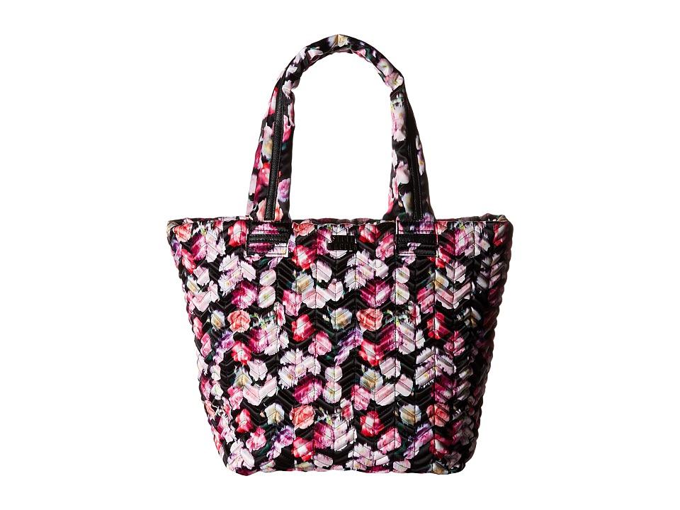 Steve Madden - Broverc Tote (Black/Pink Floral) Tote Handbags