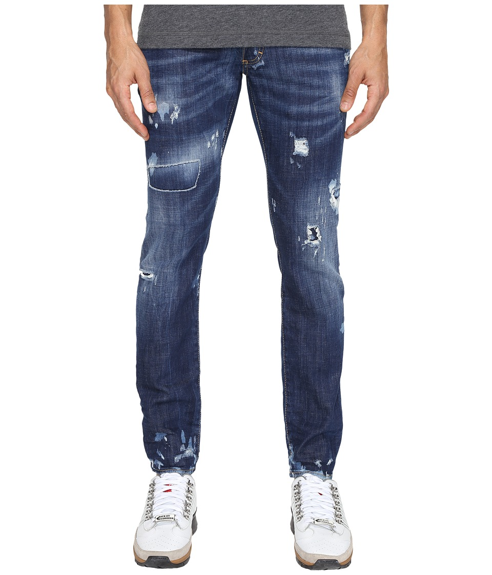 DSQUARED2 - Clement Everything Wash Jeans (Blue) Men's Jeans