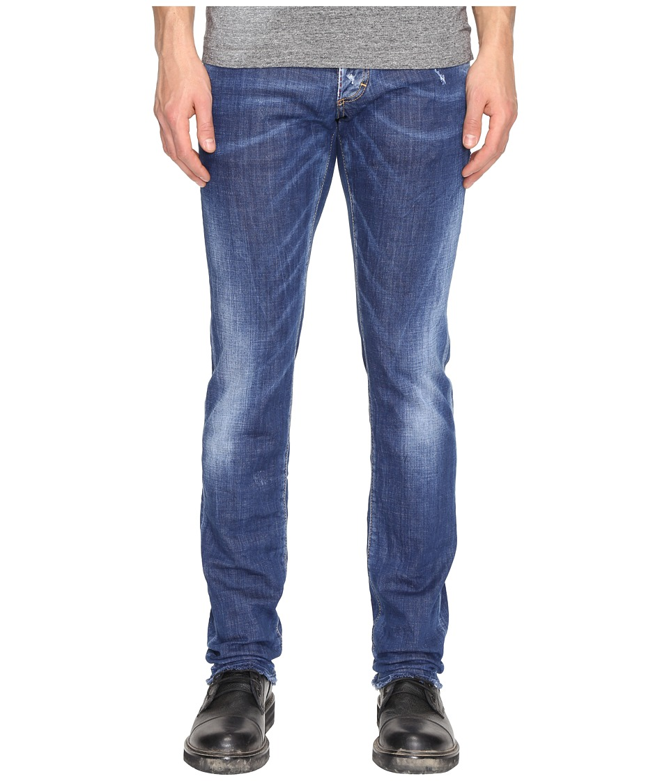 DSQUARED2 - Slim Basic B Wash Jeans (Blue) Men's Jeans