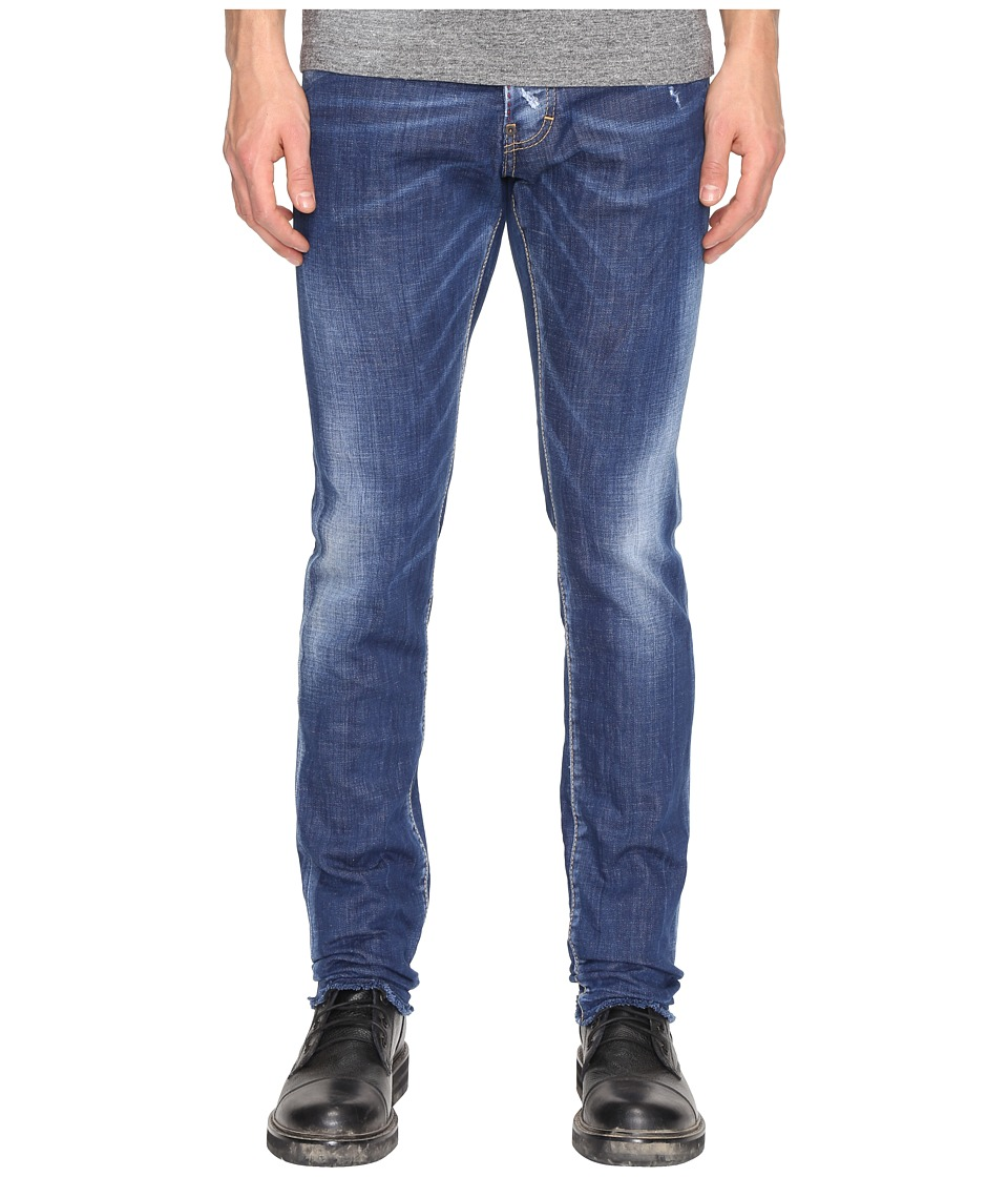 DSQUARED2 - Cool Guy Basic B Wash Jeans (Blue) Men's Jeans