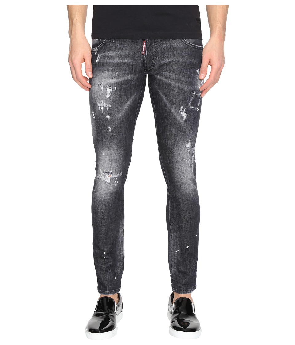 DSQUARED2 - Clement Black Wash Jeans (Black) Men's Jeans