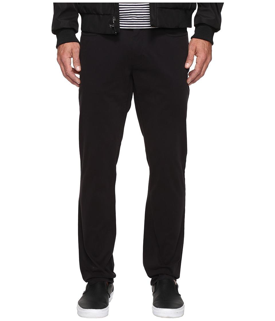 Kenneth Cole Sportswear - Slim Five-Pocket Pants (Black) Men's Casual Pants