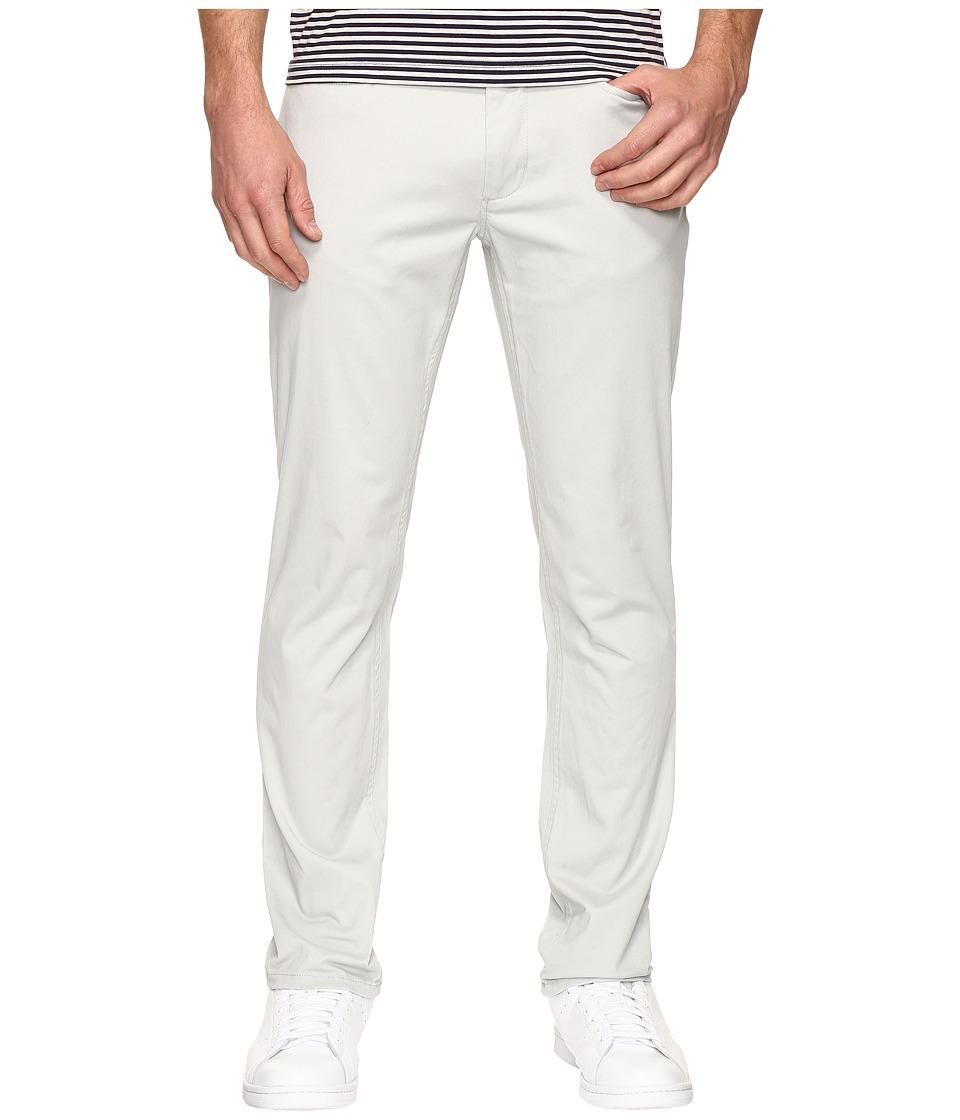 Kenneth Cole Sportswear - Slim Five-Pocket Pants (Sterling) Men's Casual Pants