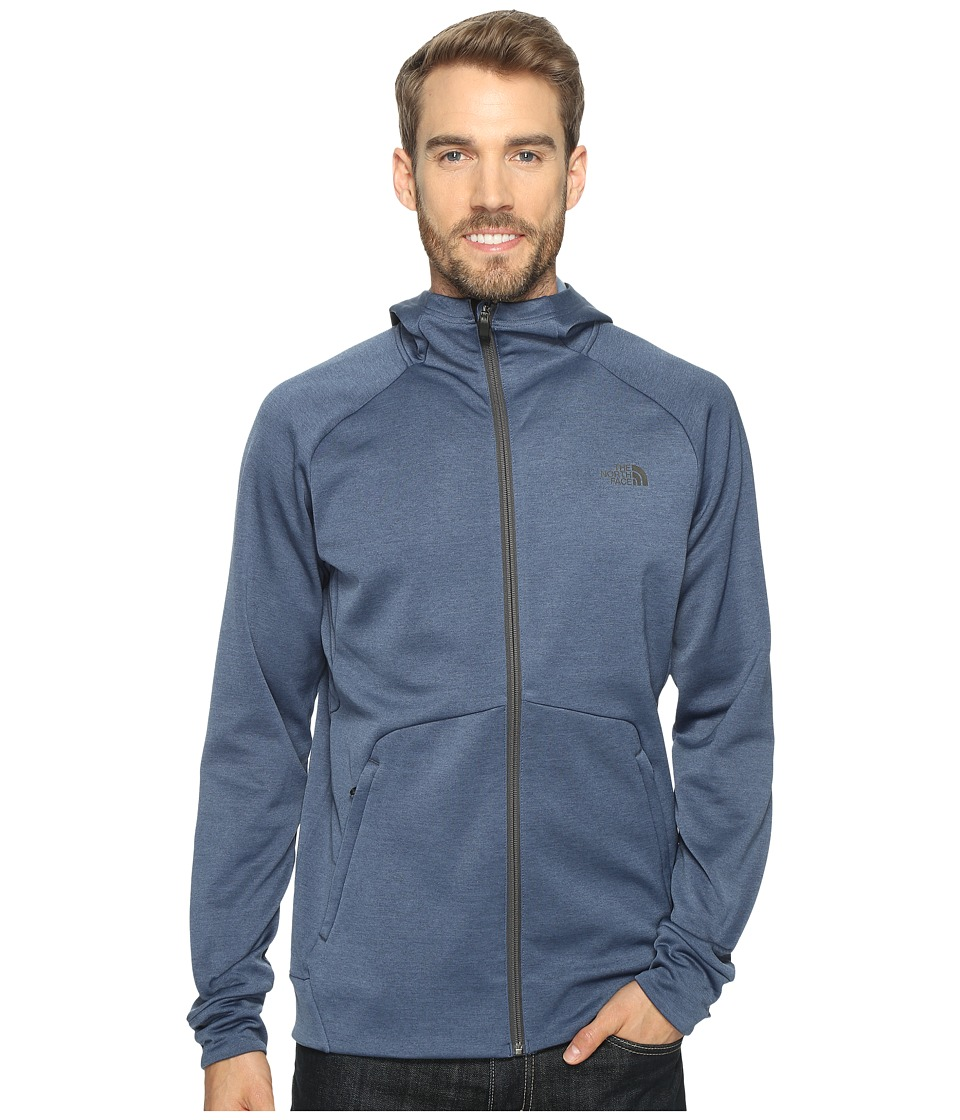 The North Face - Versitas Hoodie (Shady Blue Heather (Prior Season)) Men's Sweatshirt
