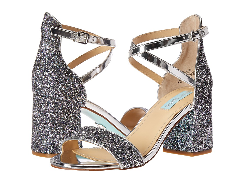 Blue by Betsey Johnson Lane (Silver Multi) High Heels