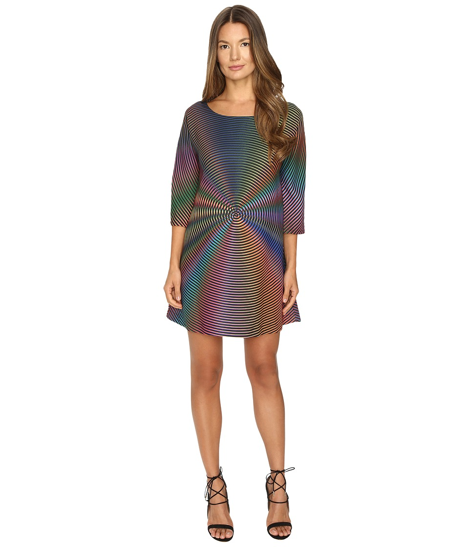 Jeremy Scott - Psychadelic Tent Dress (Multi) Women's Dress