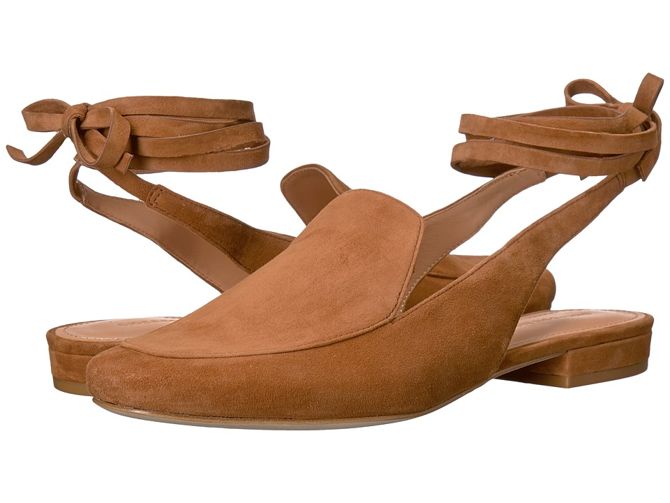 Sigerson Morrison - Bena (Cognac Kid Suede) Women's Shoes