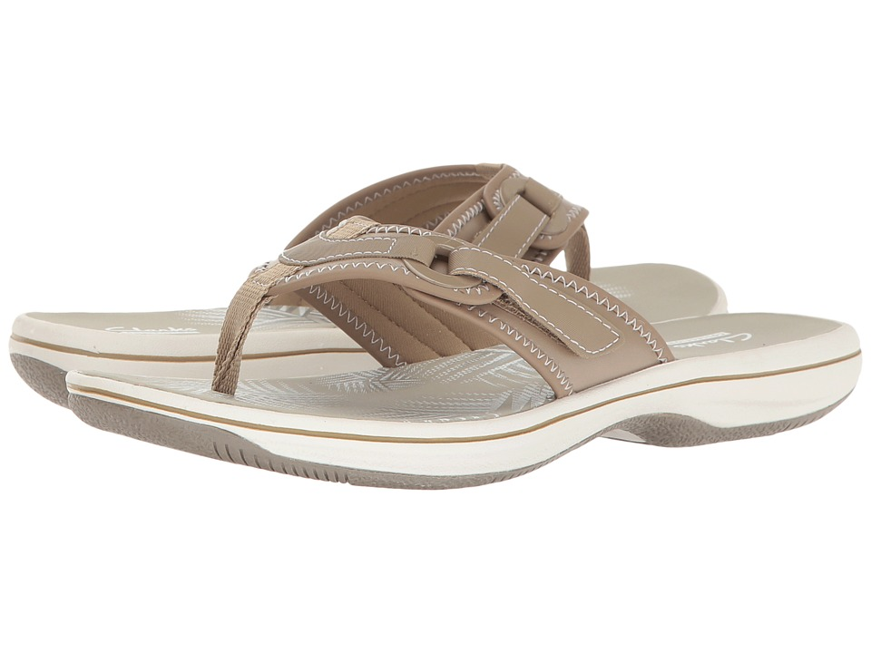 Clarks Breeze Mila (Taupe) Women