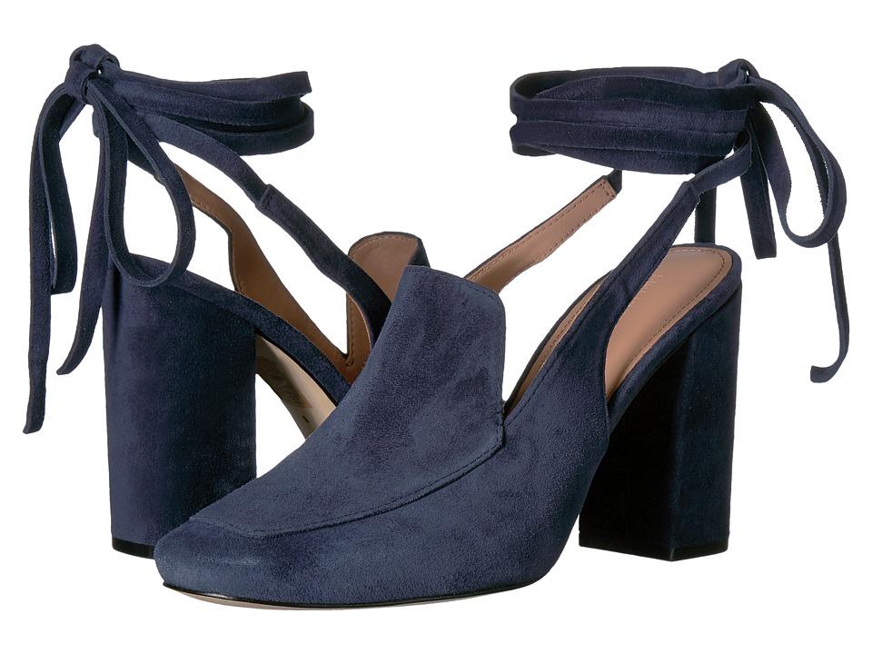 Sigerson Morrison - Posie (Pilota Deep Blue Suede) Women's Shoes