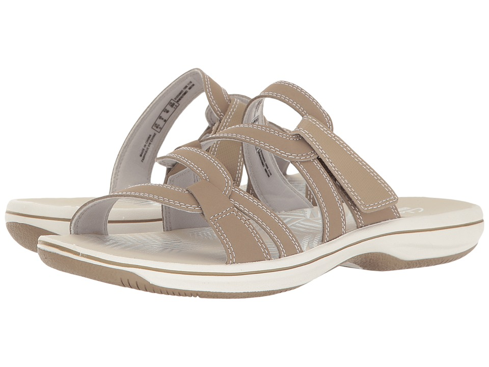 Clarks - Brinkley Lonna (Taupe) Women's Shoes