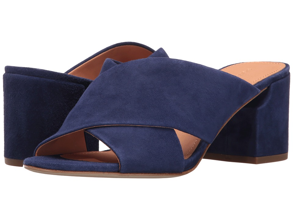 Sigerson Morrison - Rhoda (Deep Blue Suede) Women's Shoes