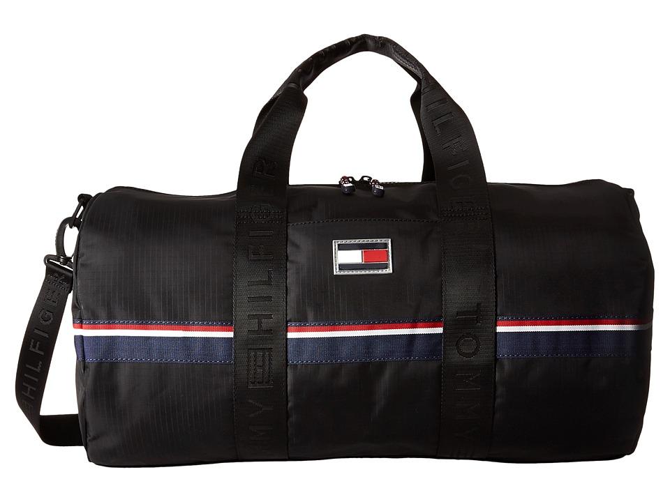 Tommy Hilfiger - TH Sport Nylon Duffel (Black) Duffel Bags