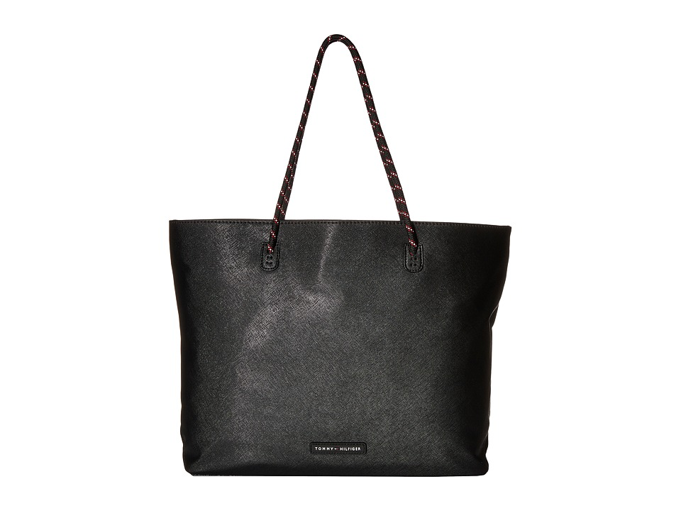 Tommy Hilfiger - Tote w/ Removable Sling (Black) Tote Handbags