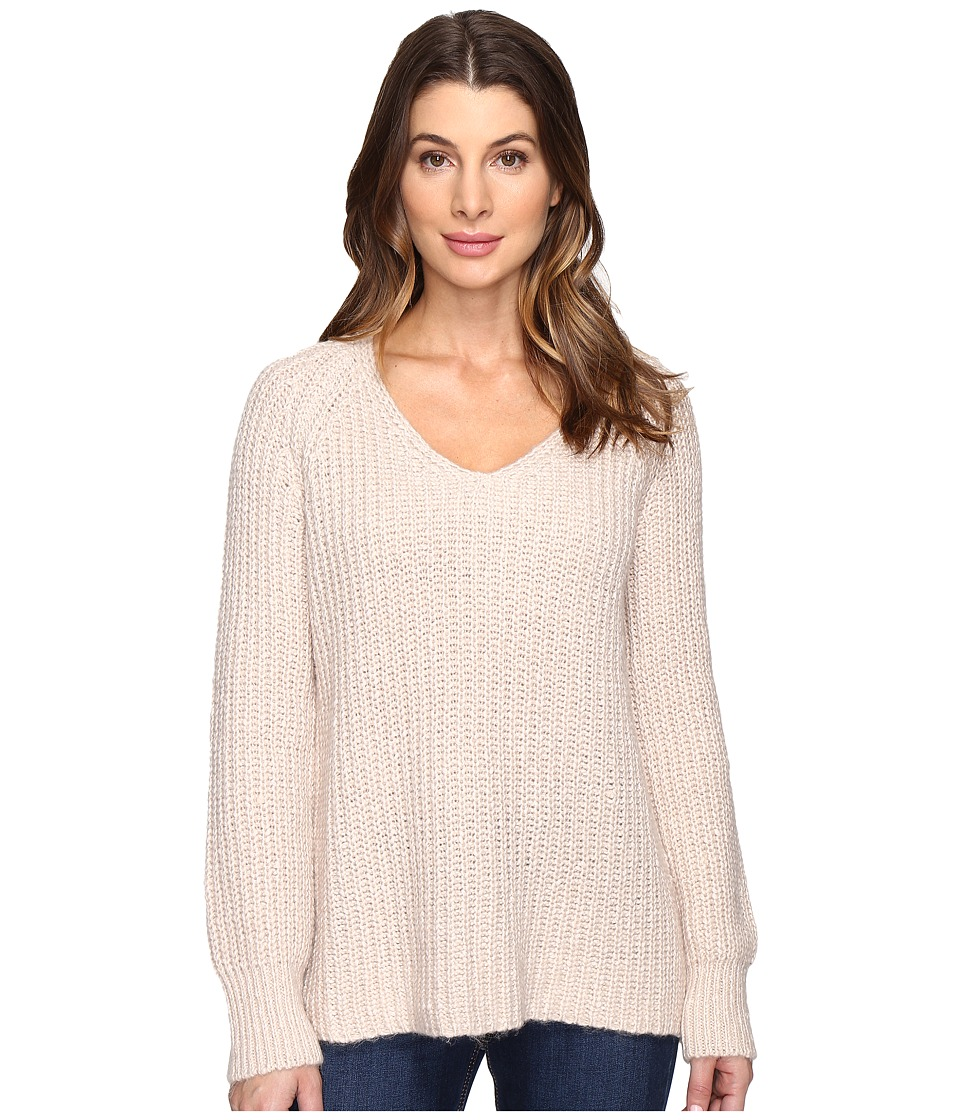 Sanctuary - Sequoia V-Neck Sweater (Marled Champagne) Women's Sweater