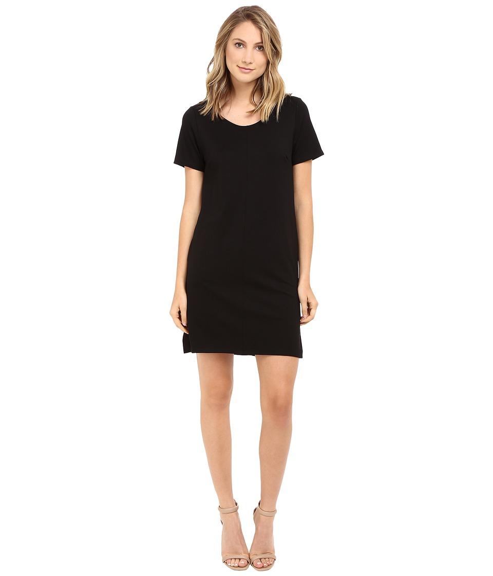 Brigitte Bailey Calin Short Sleeve Dress with Pockets (Black) Women