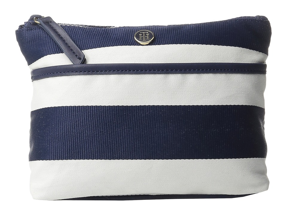 Tommy Hilfiger - Cosmetic Case Ribbon Rugby (Navy/White) Cosmetic Case