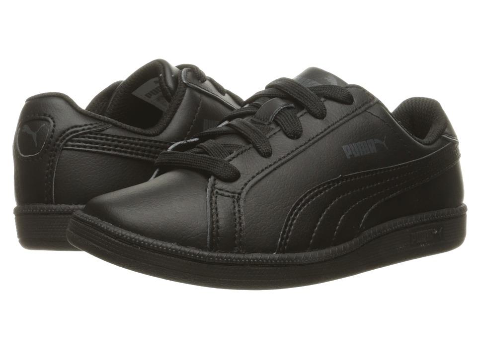 Puma Kids - Smash Fun L PS (Little Kid/Big Kid) (Black/Black) Kids Shoes