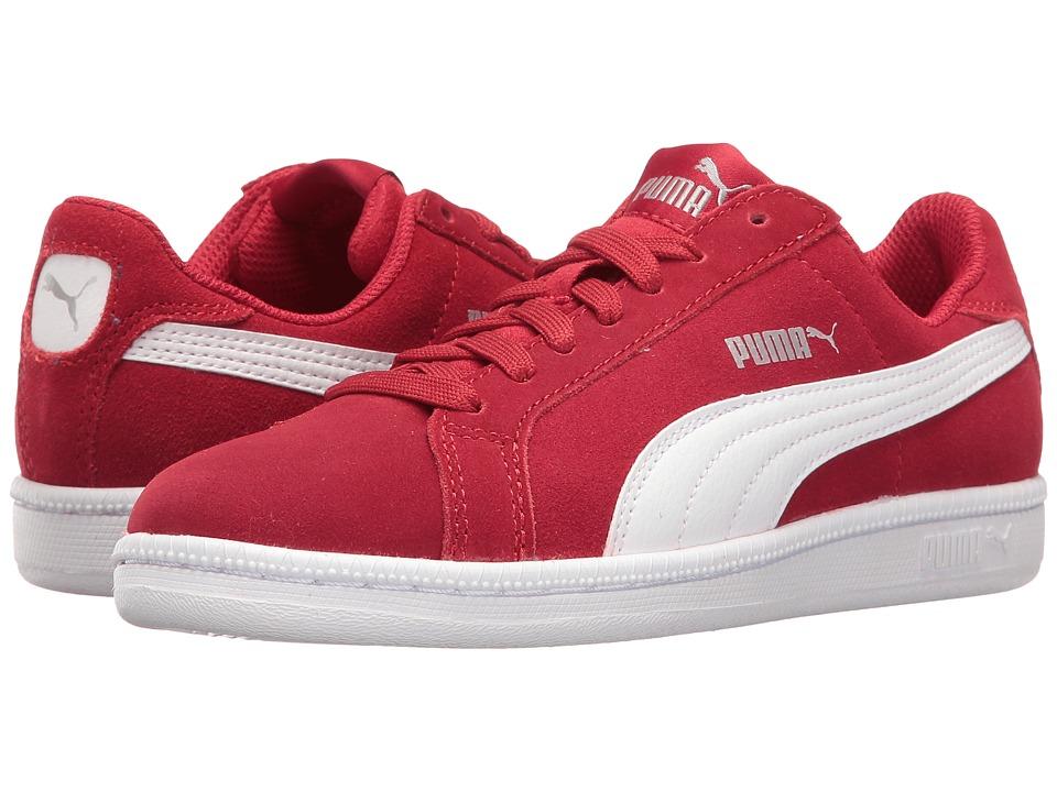 Puma Kids - Smash Fun SD Jr (Big Kid) (Barbados Cherry/Puma White) Kids Shoes