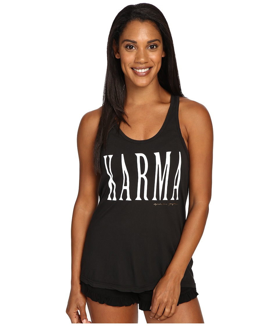 Spiritual Gangster - Karma (Vintage Black) Women's Workout