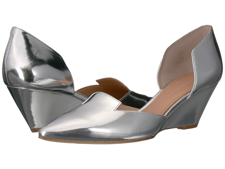 Sigerson Morrison - Wenda (Silver Specchio Mirror Leather) Women's Shoes